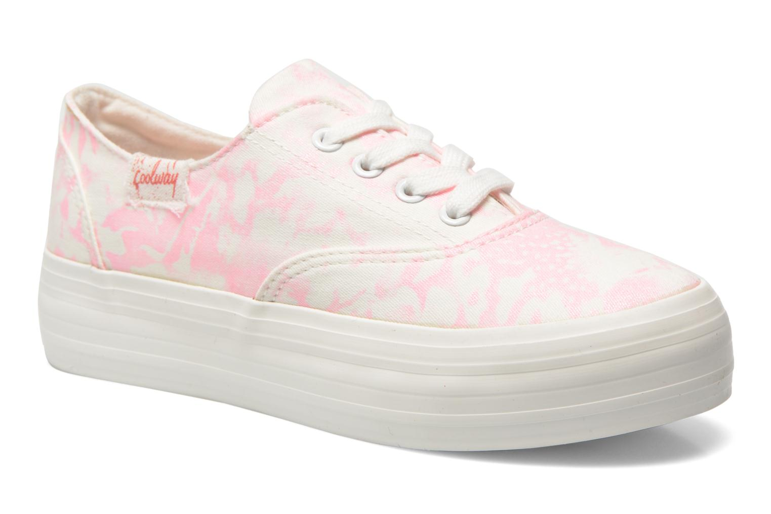 Trainers Coolway Dodo Pink detailed view/ Pair view
