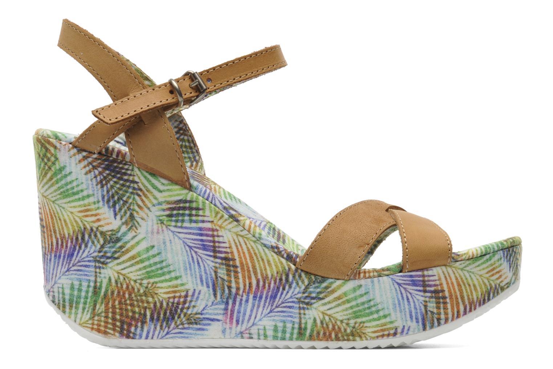 Sandales et nu-pieds Coolway Galatea Marron vue derrière