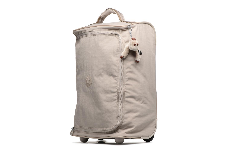 Reisegepäck kipling Teagan XS beige schuhe getragen