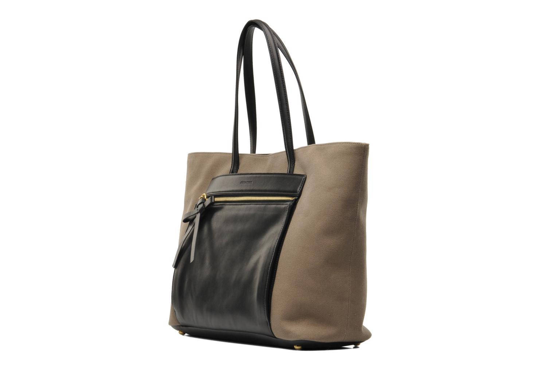 Handtaschen Sonia Rykiel AMBROISE Cabas braun schuhe getragen