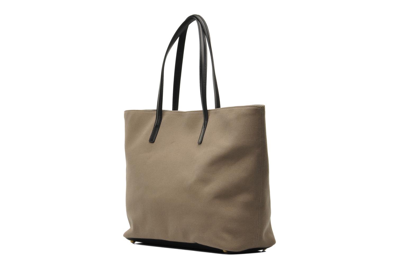 Handtaschen Sonia Rykiel AMBROISE Cabas braun ansicht von rechts