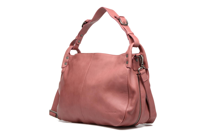 Handtaschen Sabrina Candice rosa schuhe getragen