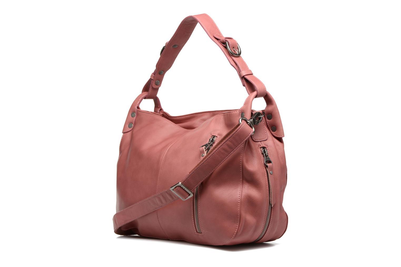 Handtaschen Sabrina Candice rosa ansicht von rechts