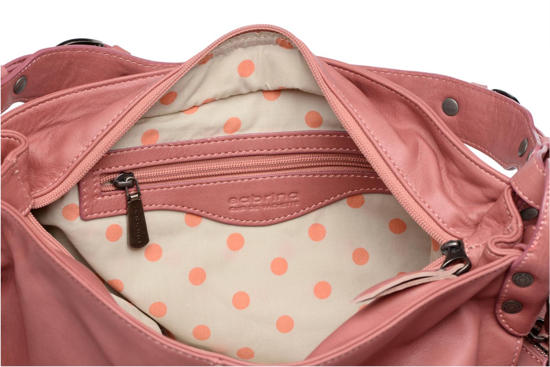 Handtaschen Sabrina Candice rosa ansicht von hinten