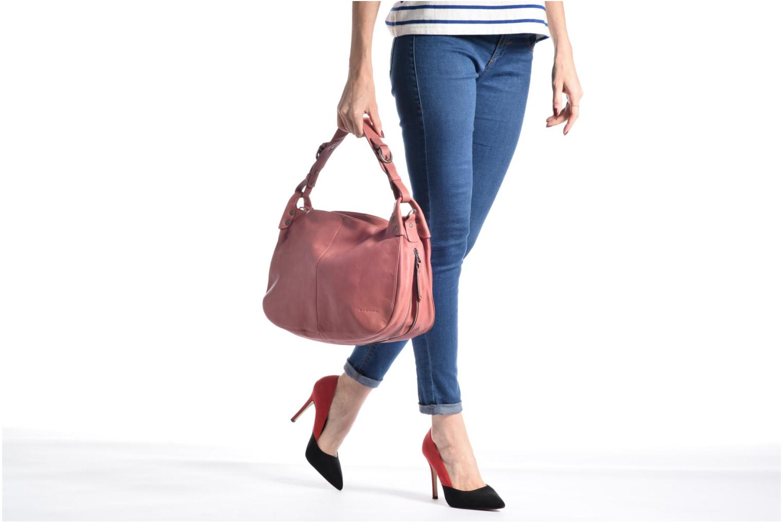 Handtassen Sabrina Candice Roze boven