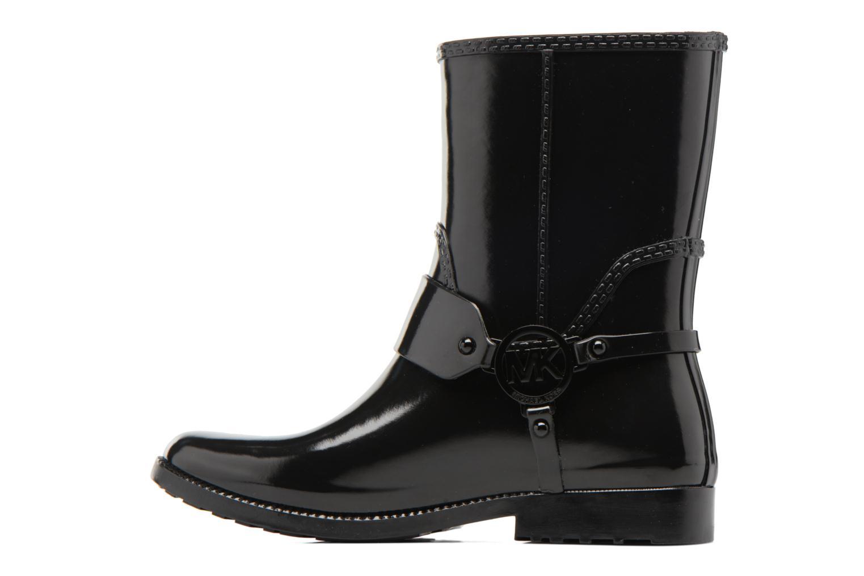 Bottines et boots Michael Michael Kors Fulton Harness Rainbootie Noir vue face