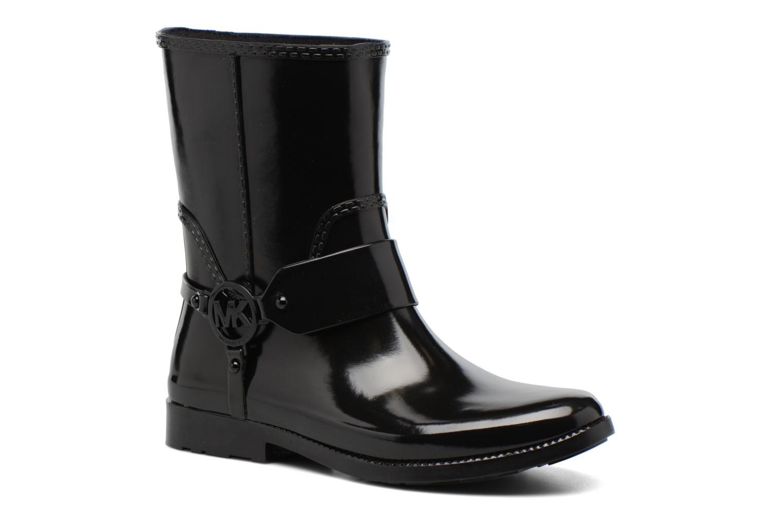 Ankelstøvler Michael Michael Kors Fulton Harness Rainbootie Sort detaljeret billede af skoene