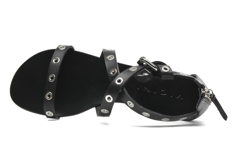 Sandales et nu-pieds Vicini Lazarus Noir vue gauche