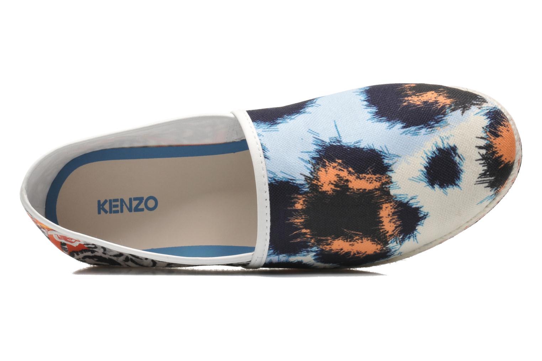 Espadrilles Kenzo Splash Multicolore vue gauche