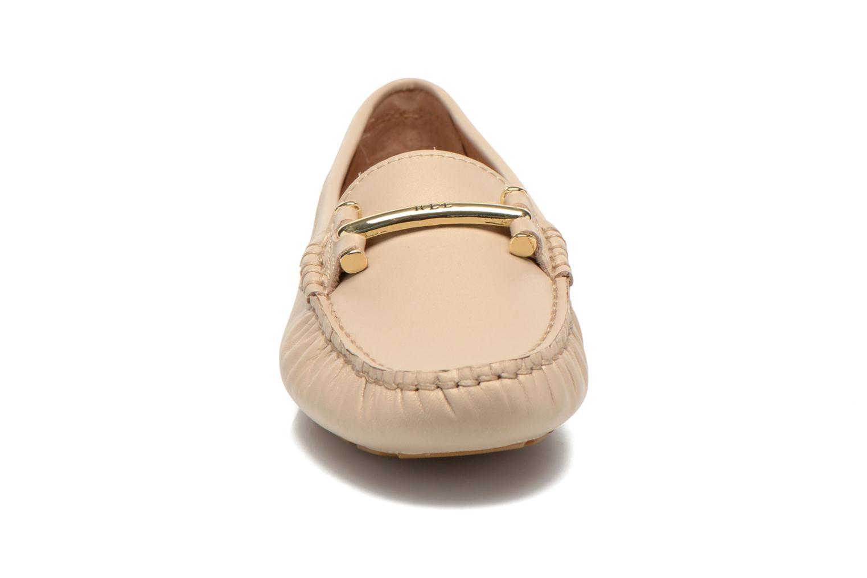 Slipper Lauren by Ralph Lauren Caliana beige schuhe getragen
