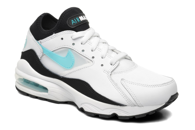 superior quality beefd 7c672 nike air max 93 negro blanco zapatos on venta