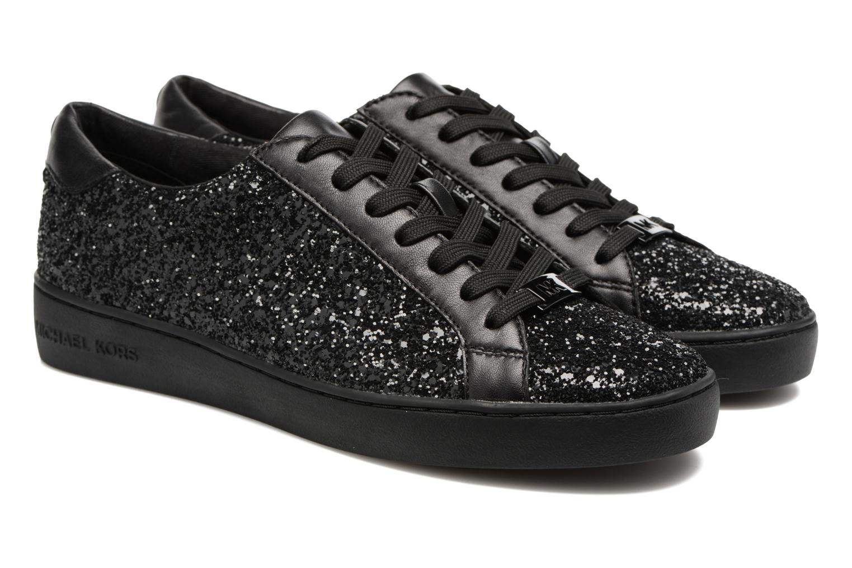 Sneakers Michael Michael Kors Irving Lace Up Svart 3/4 bild