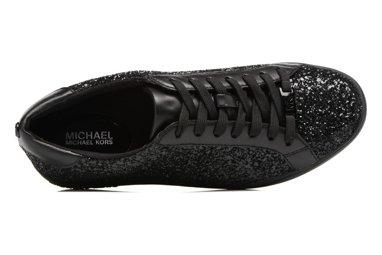 Deportivas Michael Michael Kors Irving lace up Negro vista lateral izquierda