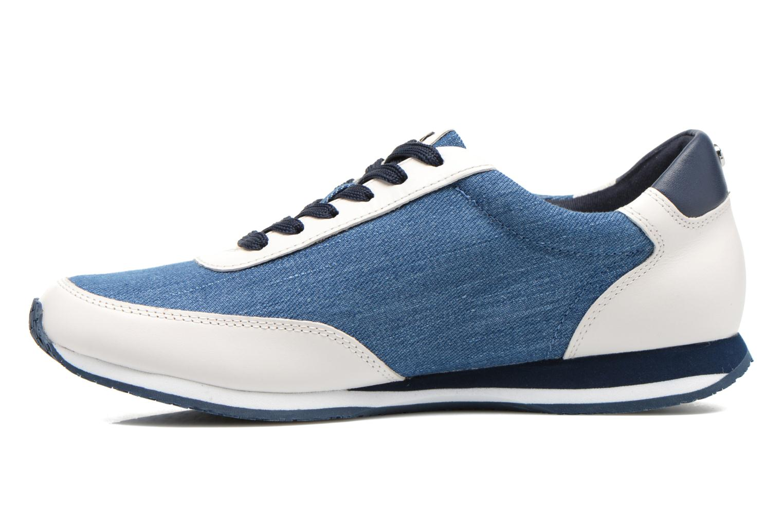Sneaker Michael Michael Kors Stanton trainer blau ansicht von vorne