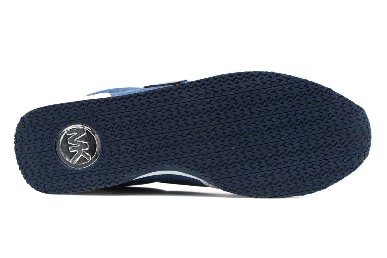 Sneaker Michael Michael Kors Stanton trainer blau ansicht von oben