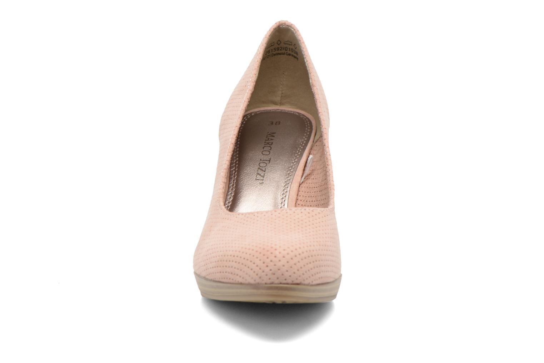 Escarpins Marco Tozzi Lolly Rose vue portées chaussures