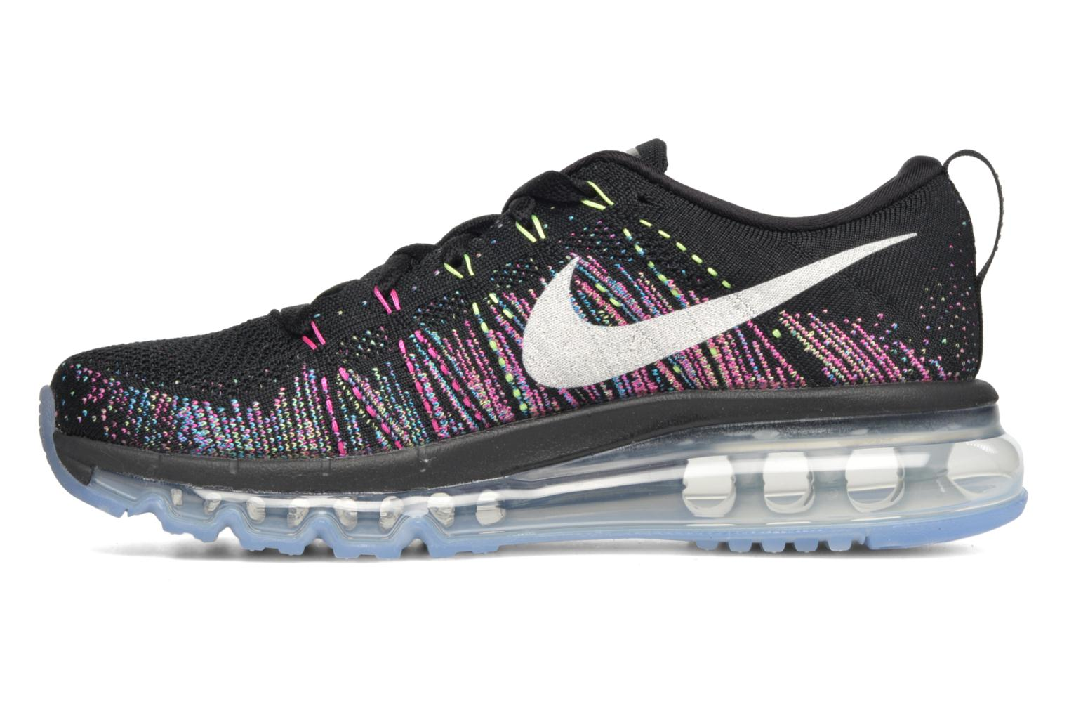 Sport shoes Nike Wmns Nike Flyknit Max Black front view