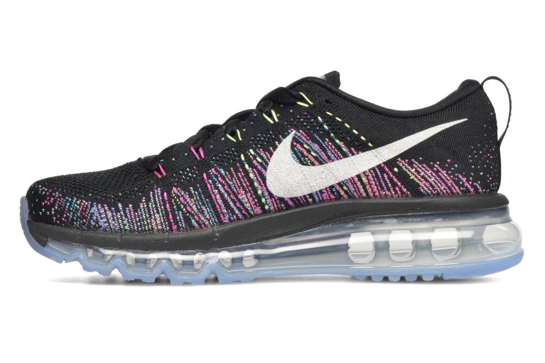 Sportschoenen Nike Wmns Nike Flyknit Max Zwart voorkant