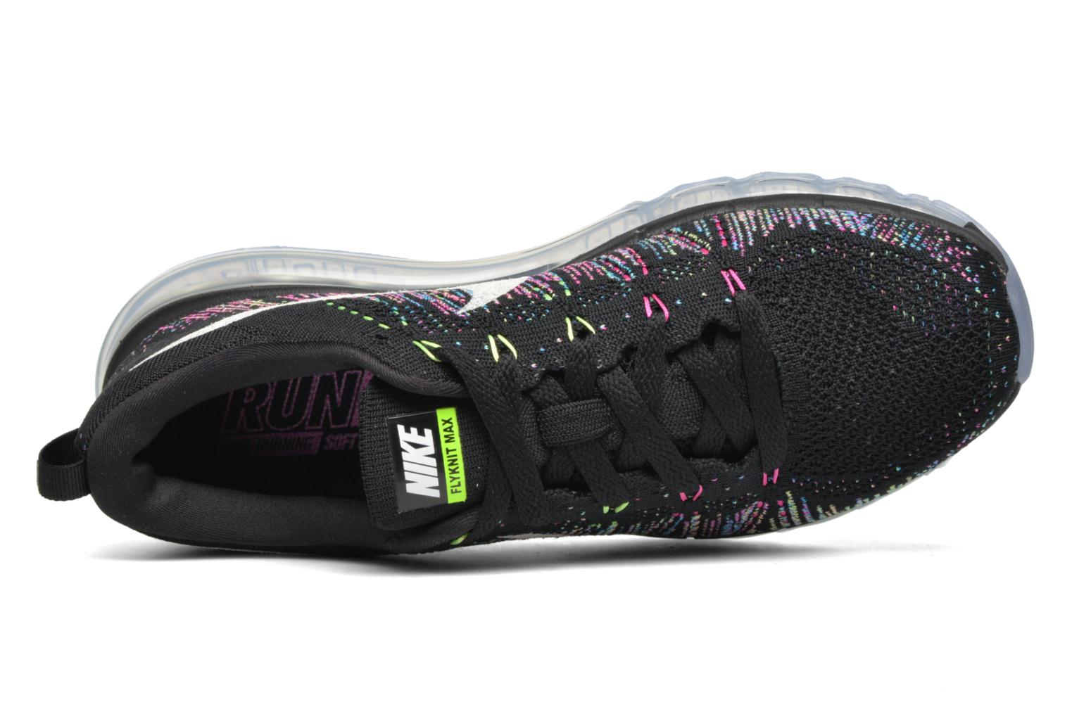 Sport shoes Nike Wmns Nike Flyknit Max Black view from the left