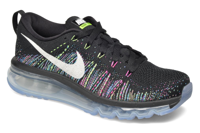 Chaussures de sport Nike Wmns Nike Flyknit Max Noir vue détail/paire