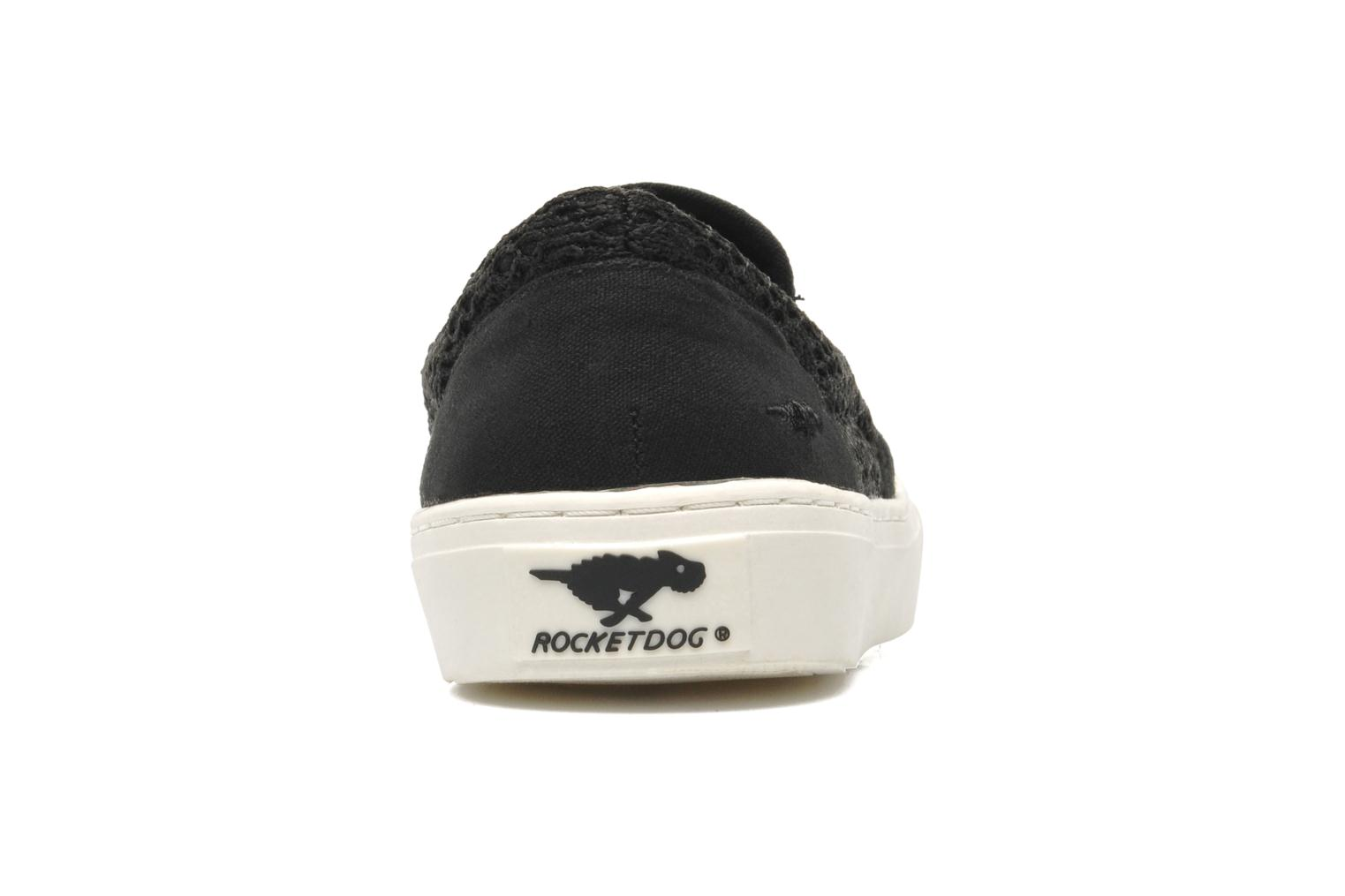 Trainers Rocket Dog Duet Black view from the right