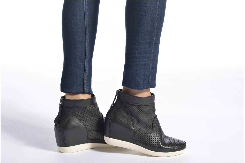 Bottines et boots Shoe the bear Emmy Marron vue bas / vue portée sac