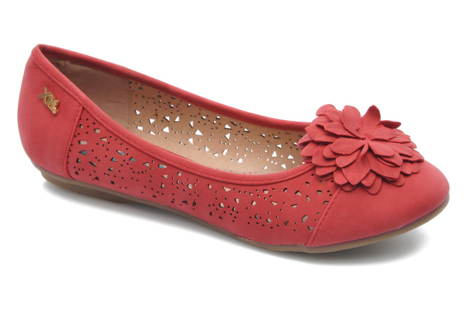 Ballet pumps Xti Vita Red detailed view/ Pair view