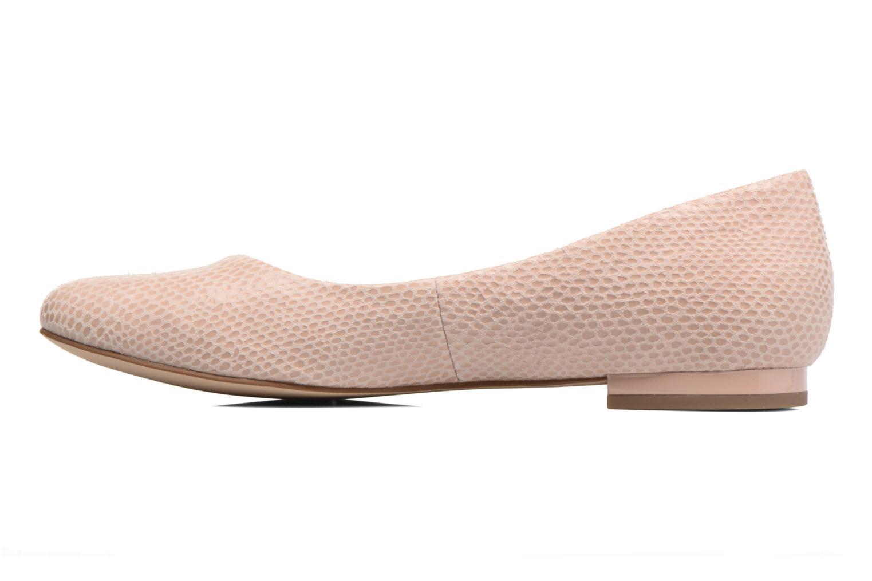 Ballerinas Caprice Vinyle rosa ansicht von vorne