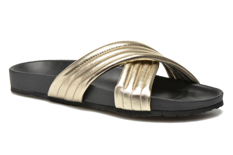 Clogs & Pantoletten Pieces Tahi leather gold/bronze detaillierte ansicht/modell