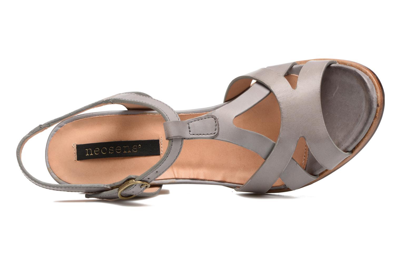 Sandales et nu-pieds Neosens Gloria 193 Gris vue gauche