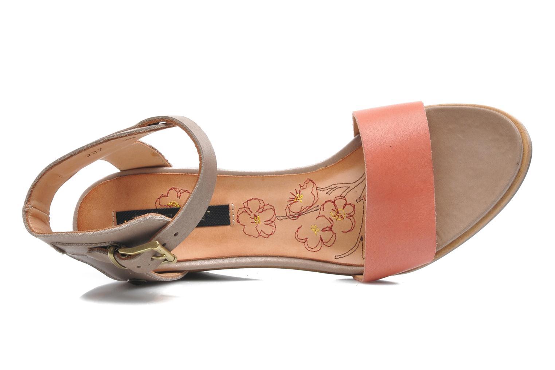 Sandales et nu-pieds Neosens Noah 237 Orange vue gauche