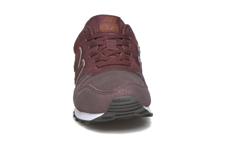 Sneaker New Balance WL373 weinrot schuhe getragen