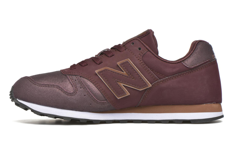 Sneaker New Balance WL373 weinrot ansicht von vorne