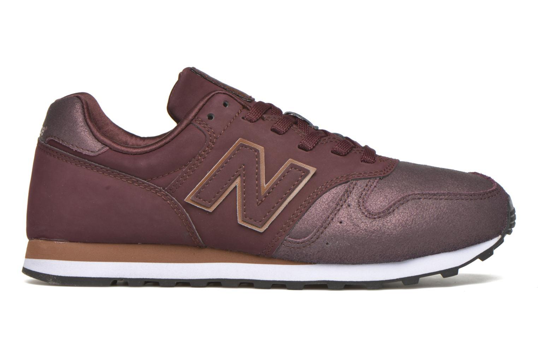 Sneaker New Balance WL373 weinrot ansicht von hinten