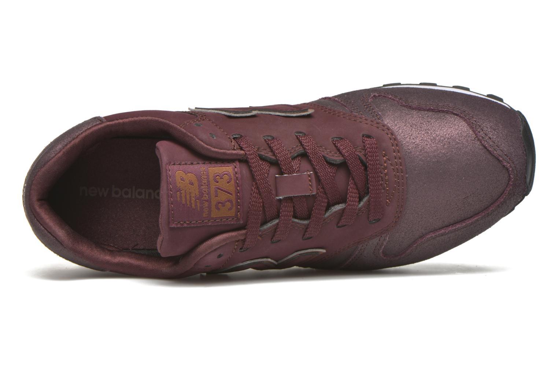 Sneaker New Balance WL373 weinrot ansicht von links