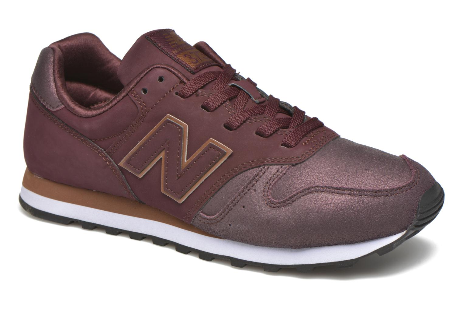 Sneakers New Balance WL373 Bordeaux detail