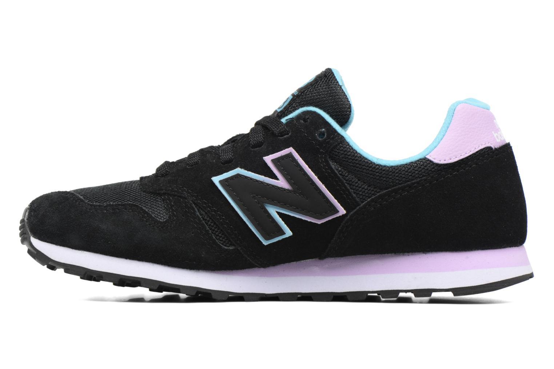 Sneaker New Balance WL373 schwarz ansicht von vorne