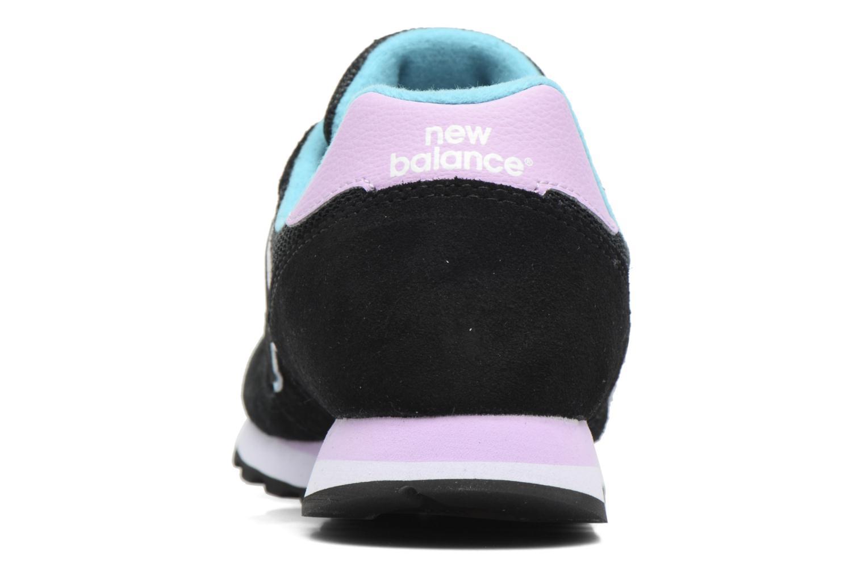 Sneaker New Balance WL373 schwarz ansicht von rechts