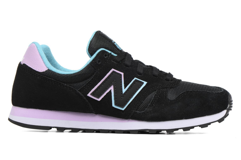 Sneaker New Balance WL373 schwarz ansicht von hinten