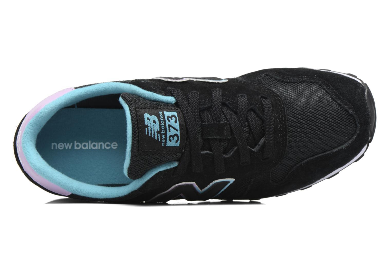 Sneaker New Balance WL373 schwarz ansicht von links