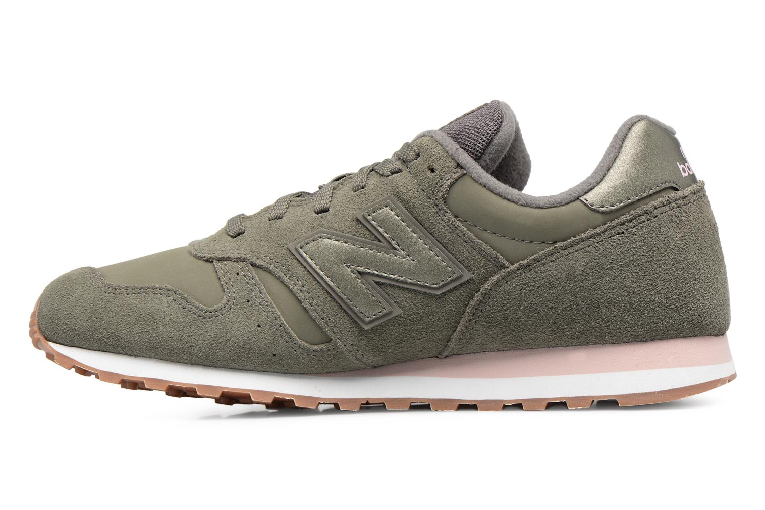 Trainers New Balance WL373 Green front view