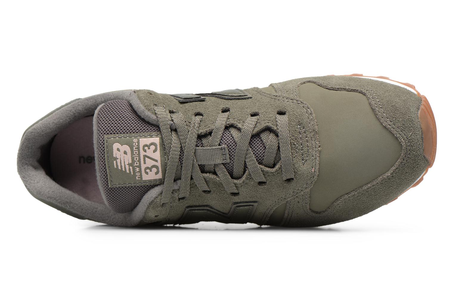 Trainers New Balance WL373 Green view from the left