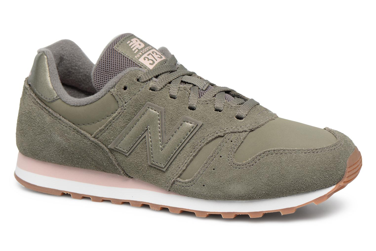 Trainers New Balance WL373 Green detailed view/ Pair view