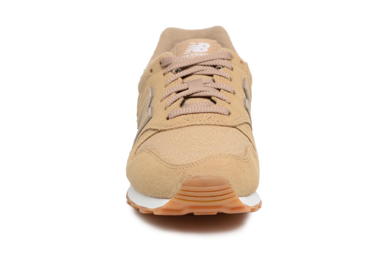 Sneaker New Balance WL373 beige schuhe getragen