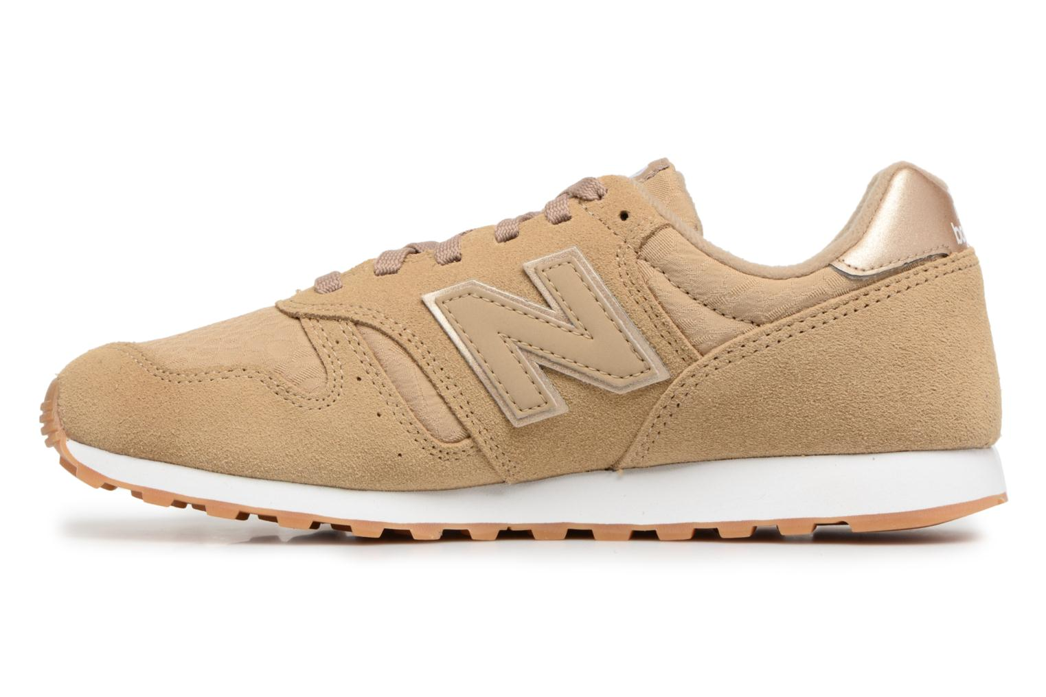 Trainers New Balance WL373 Beige front view