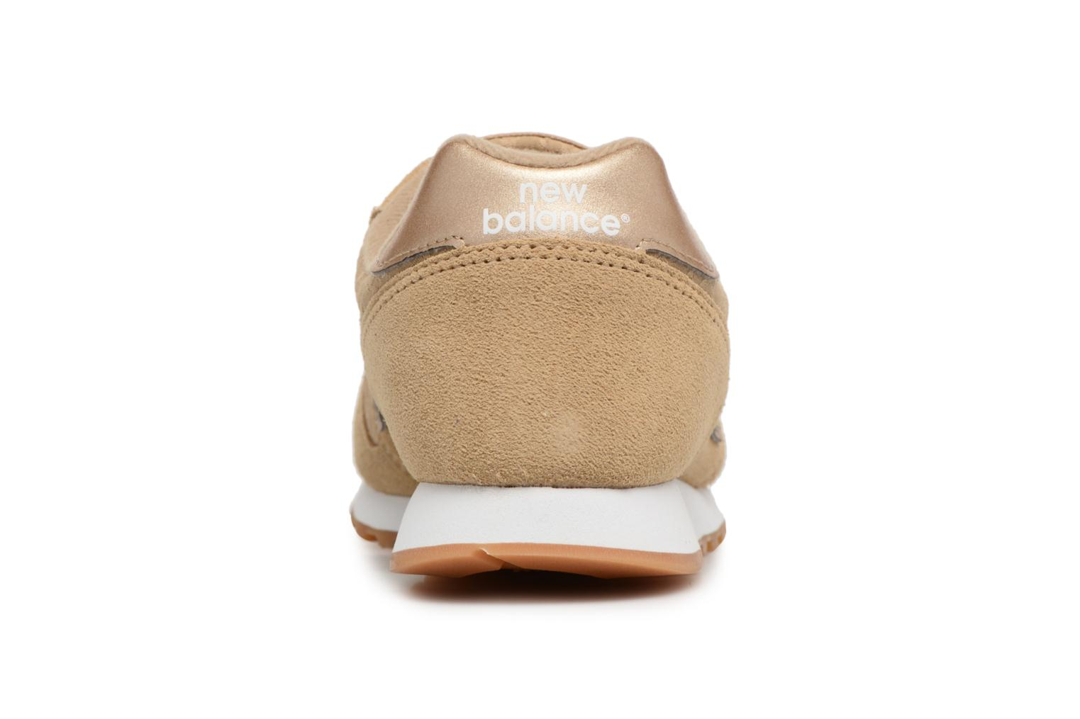 Trainers New Balance WL373 Beige view from the right