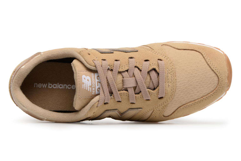 Sneaker New Balance WL373 beige ansicht von links