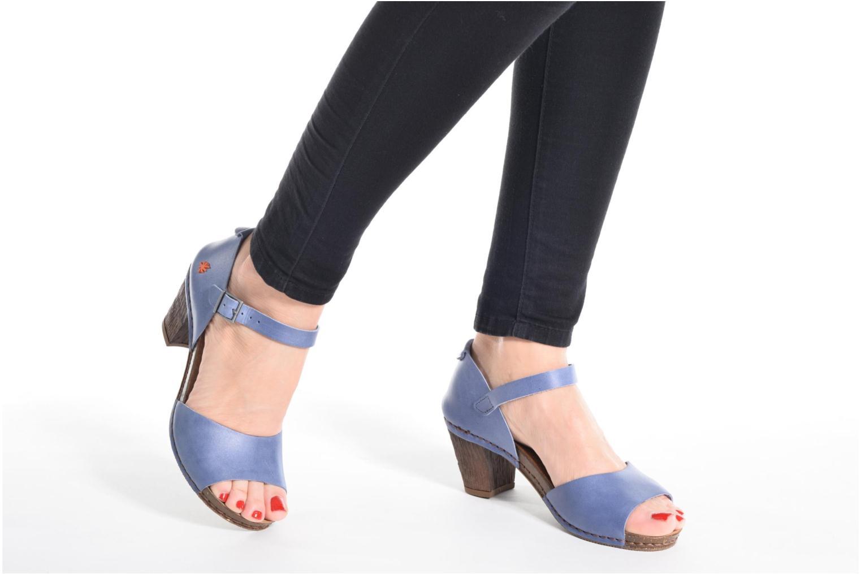 Sandales et nu-pieds Art I Meet 145 Bleu vue bas / vue portée sac