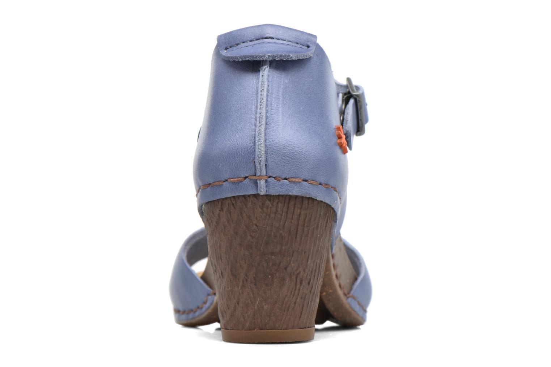 Sandales et nu-pieds Art I Meet 145 Bleu vue droite
