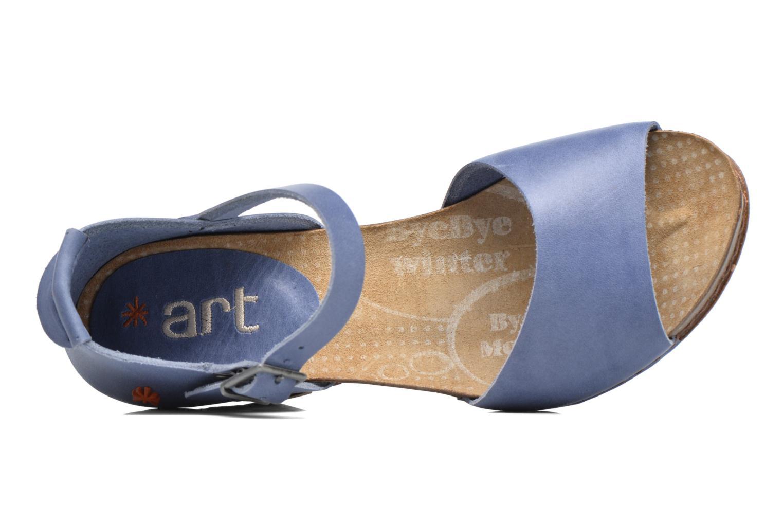 Sandales et nu-pieds Art I Meet 145 Bleu vue gauche